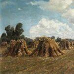 WA Houtman (1886-1968), schilder, schilderij, Rockanje, Schiedam